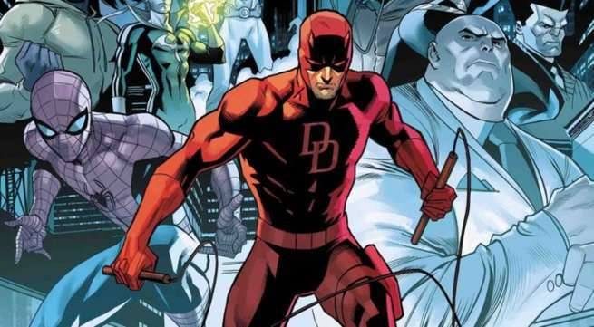Daredevil Best Marvel Series - Cover 600