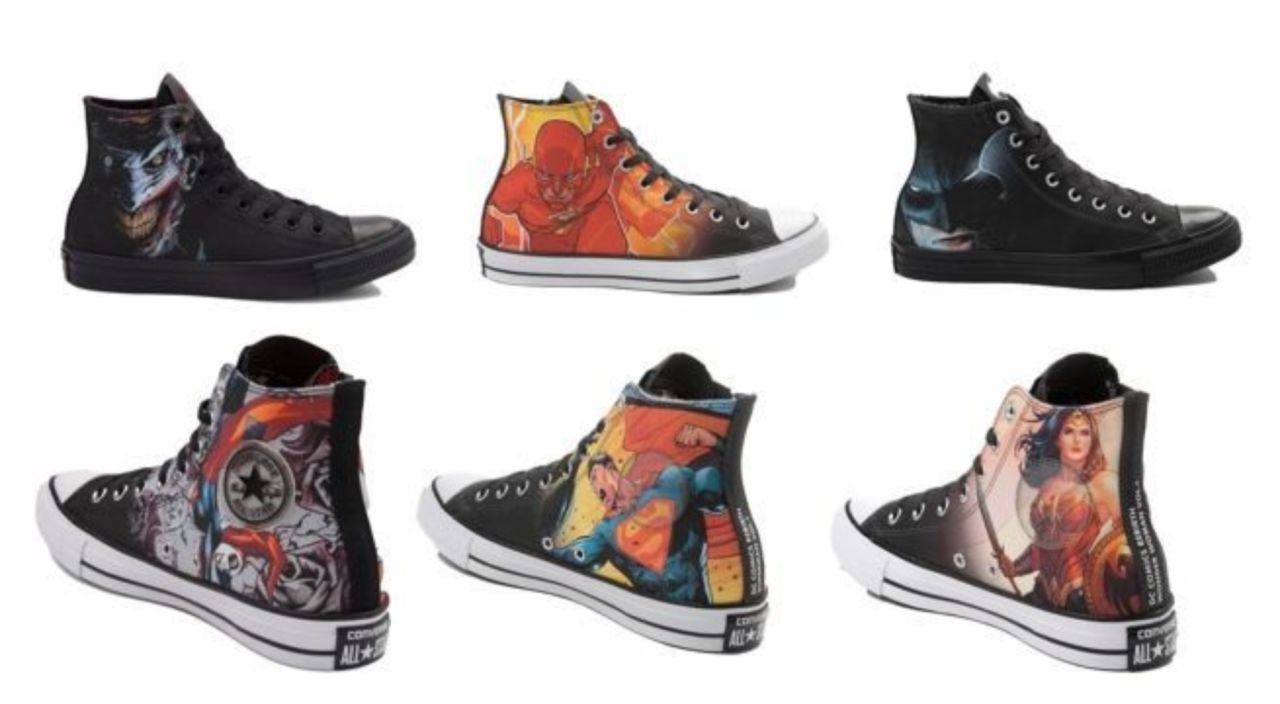 3cfcd346d88f Rebirth Superman and The Flash Join the Chuck Taylor DC Comics Sneaker  Collection