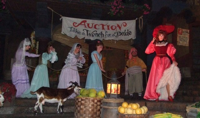 disney pirates bride auction