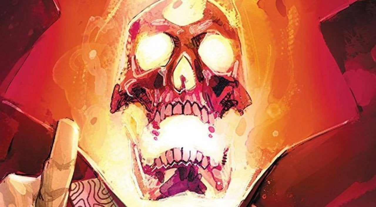 SPOILER Becomes a Ghost Rider