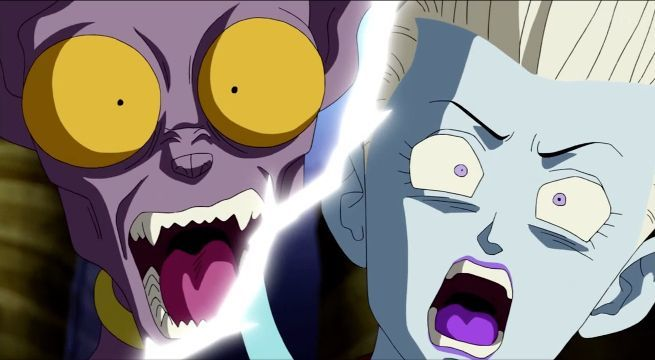 Dragon Ball Super 55 Whis Beerus Goku Zeno