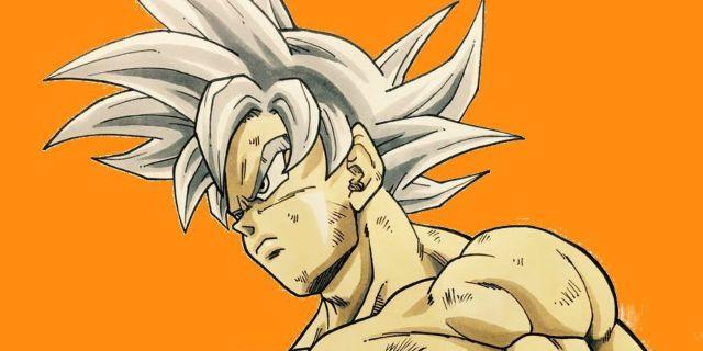 Dragon Ball Super Goku Ultra Instinct Fan Art by @dragongarowLEE