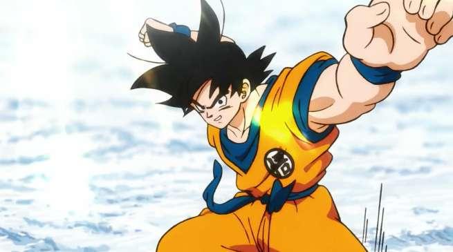 Dragon Ball Super Movie Goku Fight Style