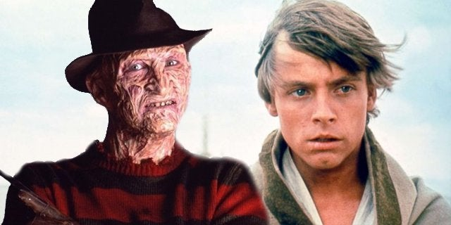 freddy krueger luke skywalker star wars