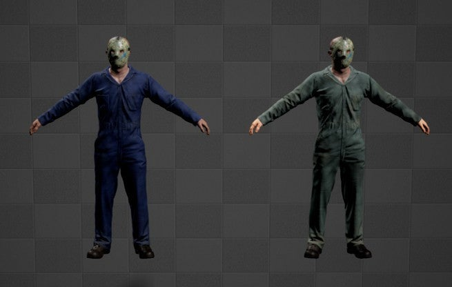 Friday the 13th the Game Roys Coveralls