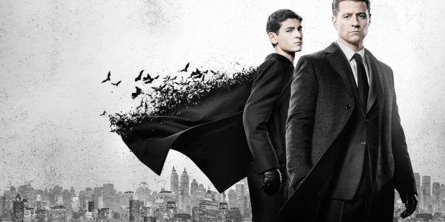 gotham bruce wayne jim gordon key art