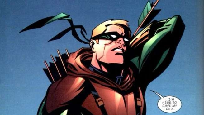 Green Arrow Allies - Connor Hawke
