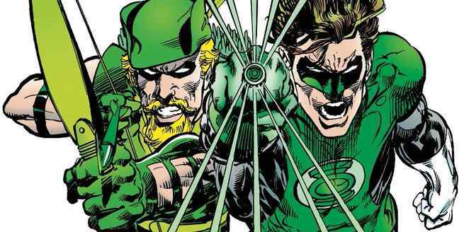 Green Arrow Allies - Hal Jordan