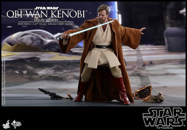 Hot Toys - SW - Obi-wan Kenobi collectible figure (Deluxe)_PR7