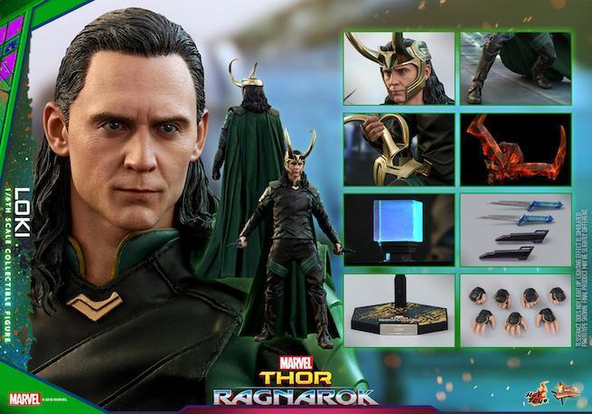 Hot Toys - Thor 3 - Loki collectible figure_PR25