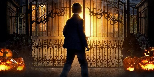 house with a clock in its walls trailer poster