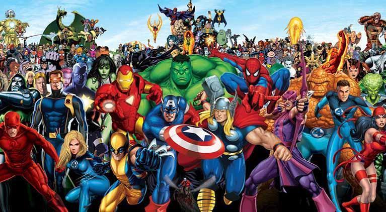 if superheroes were real marvel