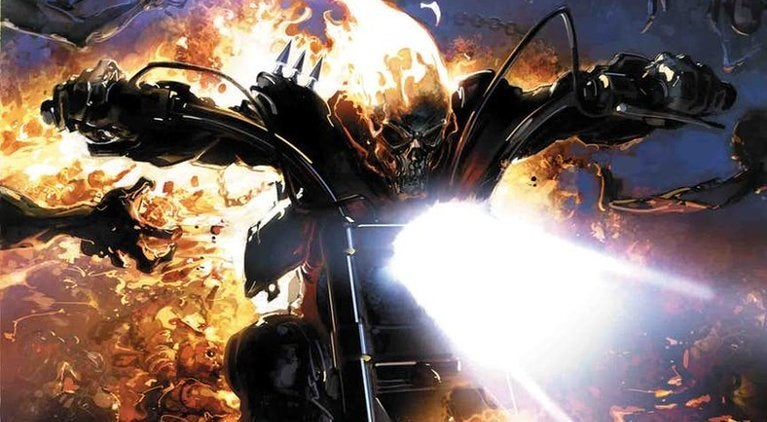Johnny Blaze Ghost Rider Damnation