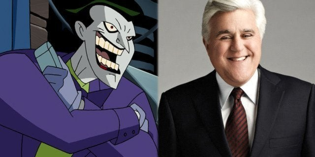 joker batman animated series mark hamill jay leno