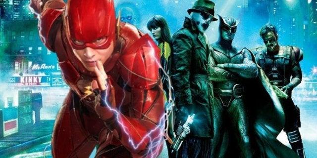 Justice League Watchmen Easter Egg