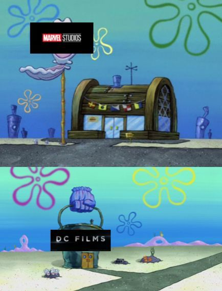 Krusty Krab Chum Bucket Marvel DC