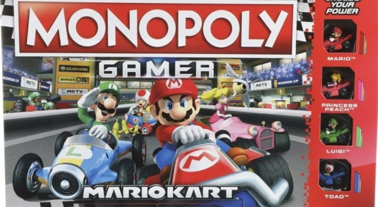 Monopoly Gamer Mario Kart Edition Revealed Now Available