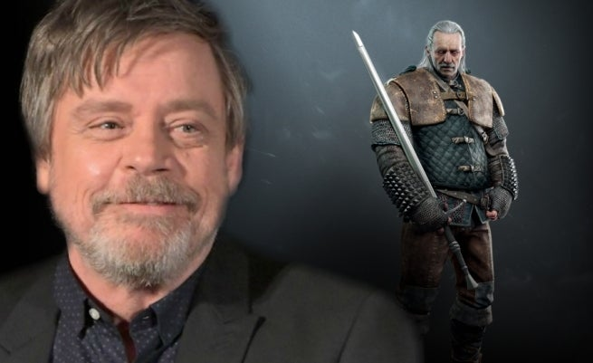 mark hamill witcher