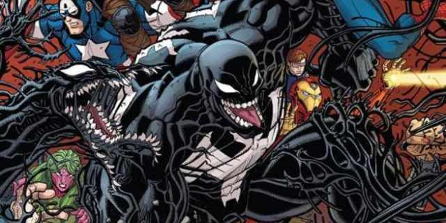 Marvel Comics Symbiotes - Cover