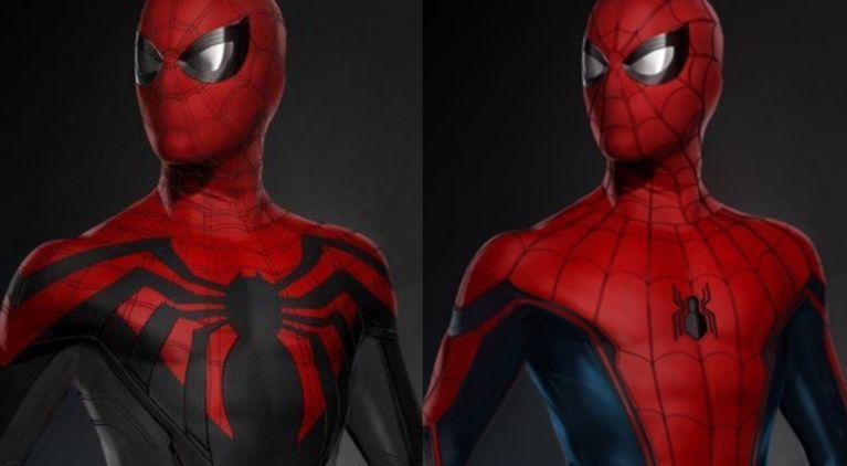 MCU Spider-Man concept art
