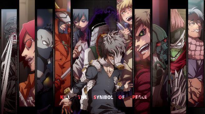 My Hero Academia Villains