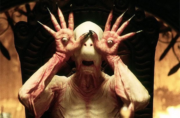 pan's labyrinth movie eyeball hands