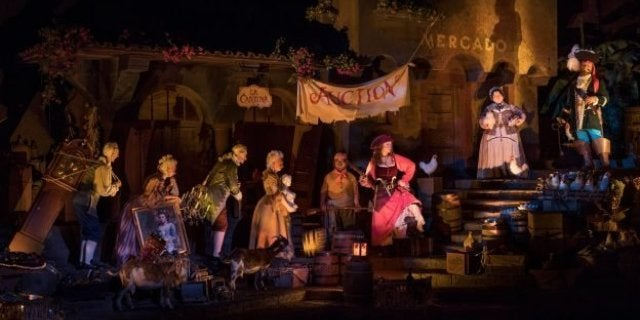 pirates of the caribbean new auction