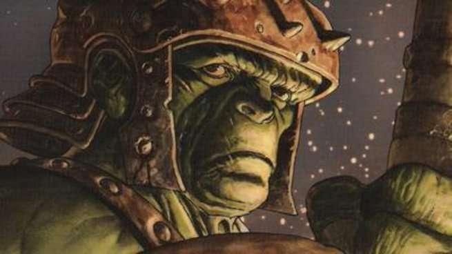 Planet Hulk - Heart of Hulk