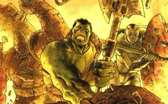 Planet Hulk - Warbound
