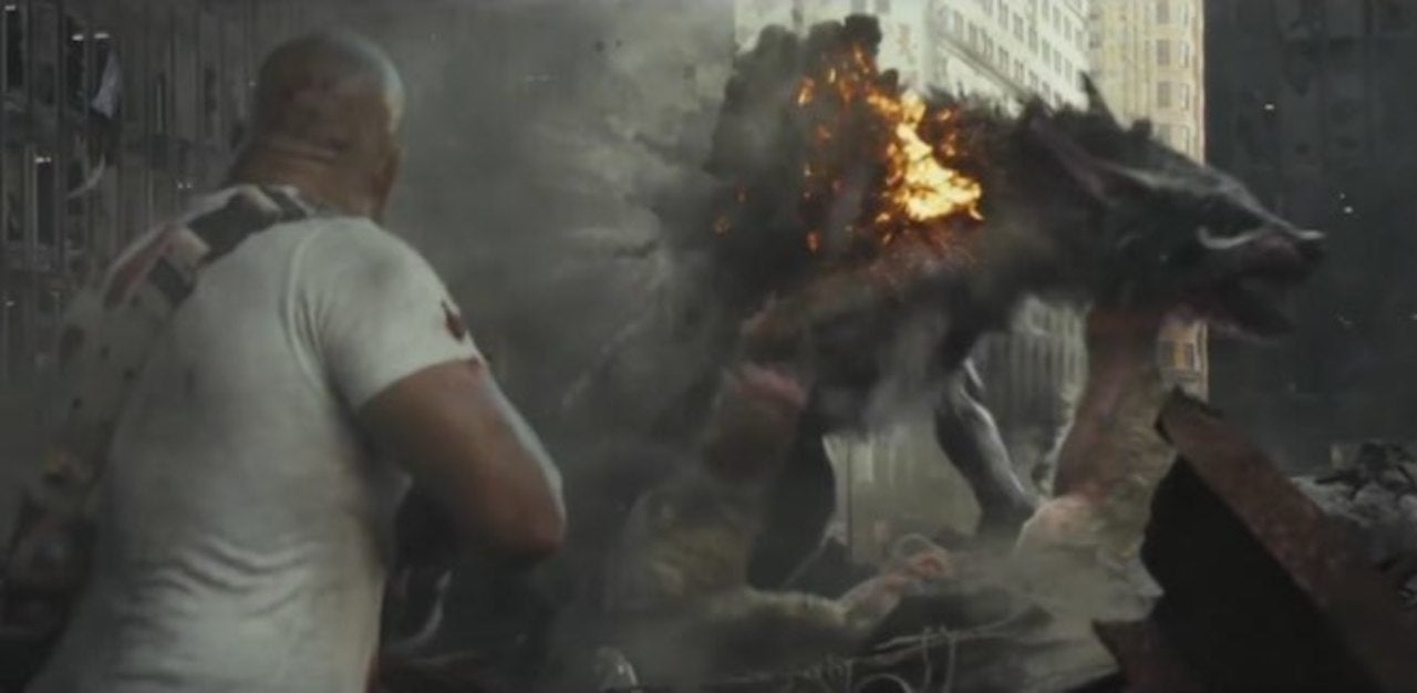 New Rampage Trailer Confirms The Wolf S Name Hints The Alligator Could Be Next