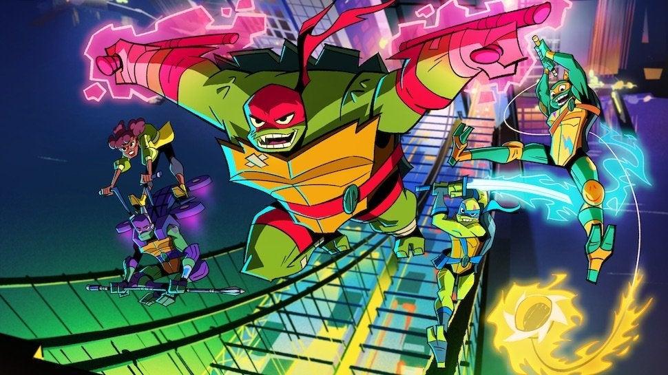 rise of the teenage mutant ninja turtles series