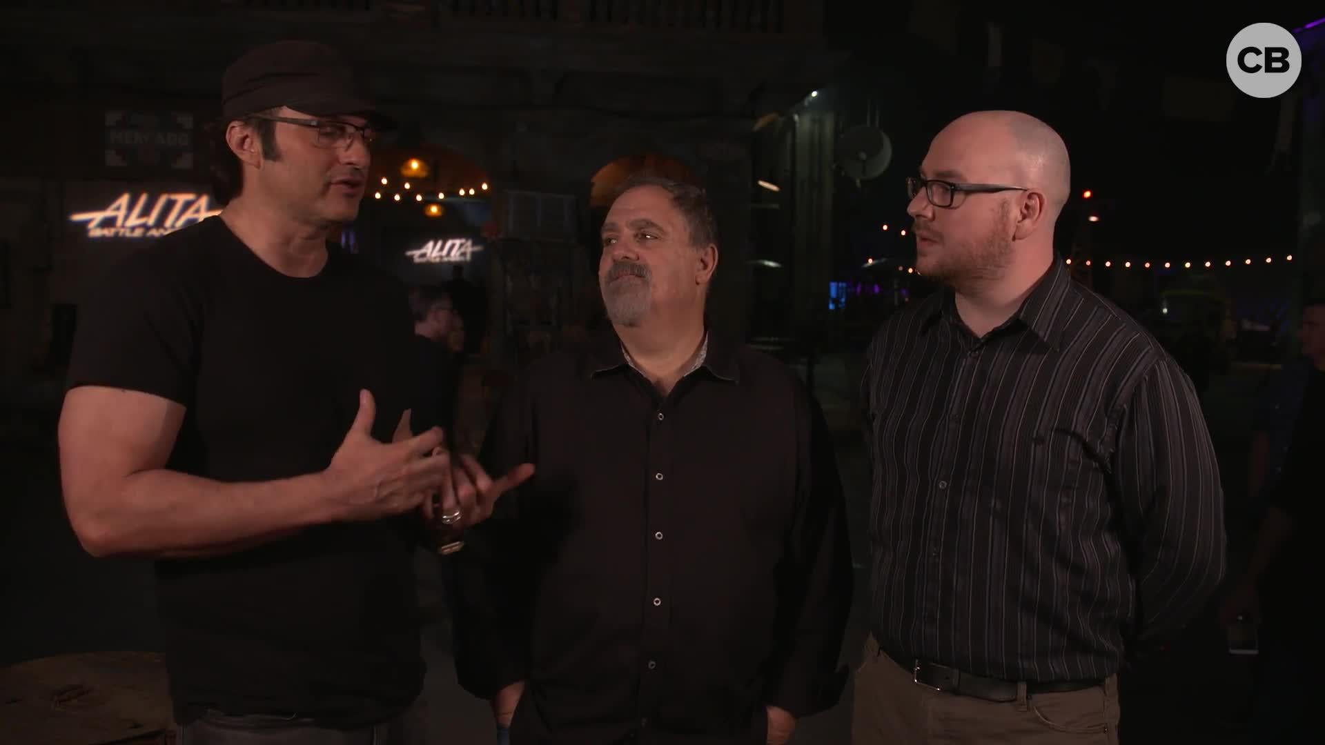 Robert Rodriguez and Jon Landau Talk Alita: Battle Angel screen capture