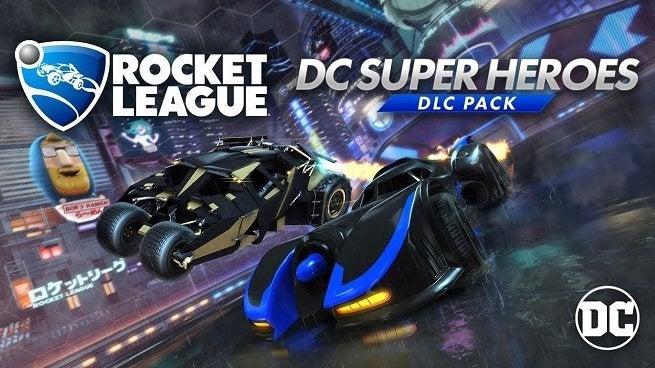 Rocket League's DC Super Heroes DLC Is Now Available