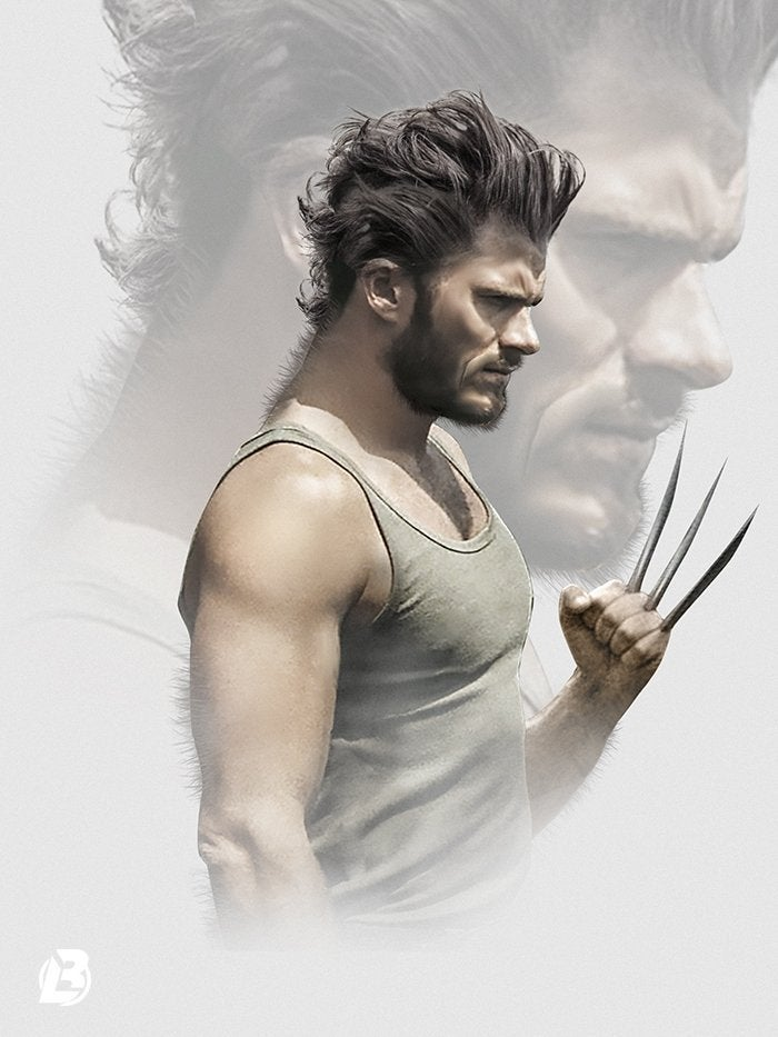 Scott Eastwood Wolverine by BossLogic