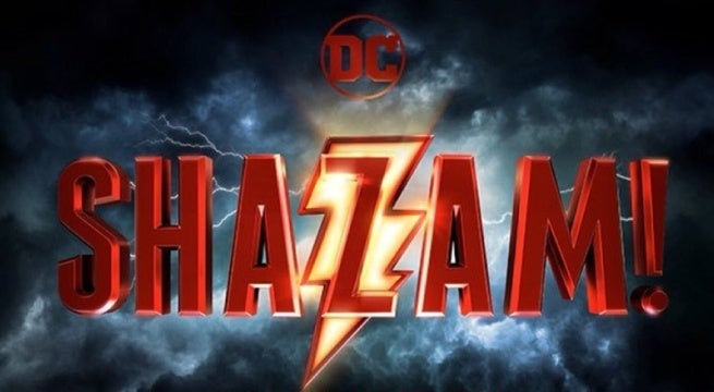 shazam movie logo