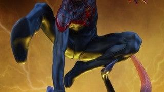 Spider-Man Miles Morales Sideshow Premium Format