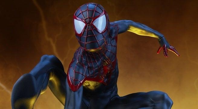 Spider-Man-Miles-Morales-Sideshow-Premium-Format-Header
