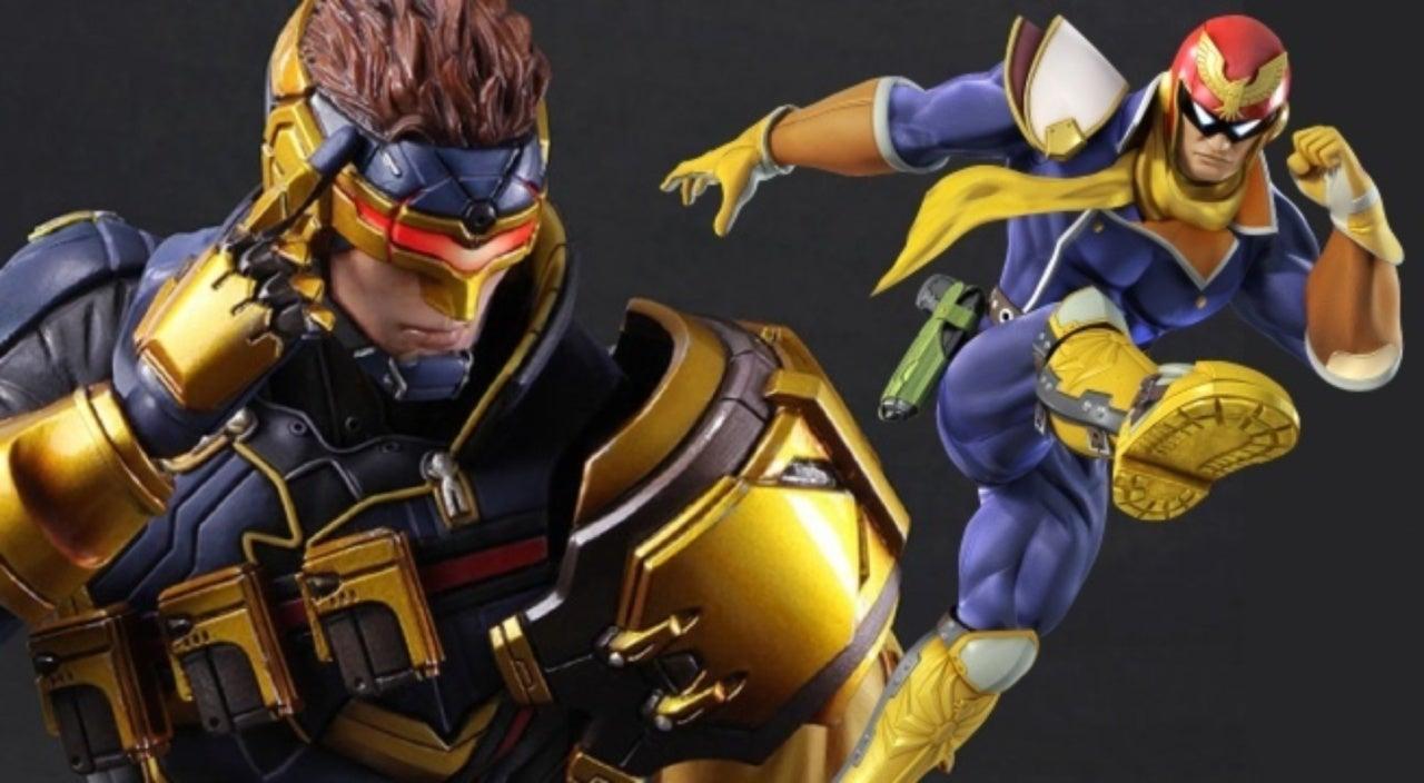 Square Enix S Cyclops Figure Channels Nintendo S Captain Falcon