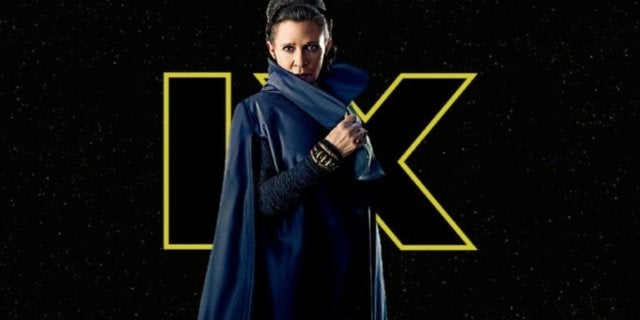 Star Wars Episode IX Leia Carrie Fisher comicbookcom