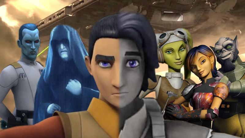 Star Wars Rebels Animated Series Sequel