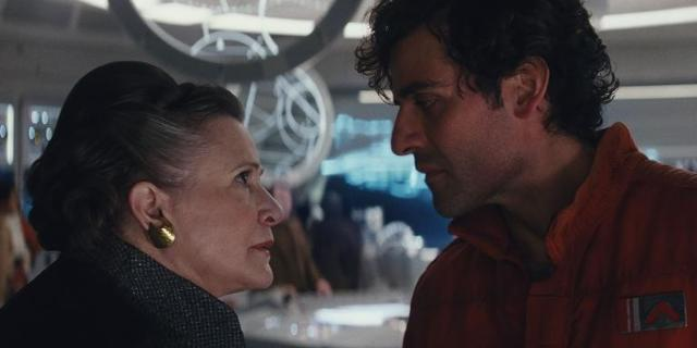 star-wars-the-last-jedi-gag-reel-carrie-fisher-slaps-oscar-isaac