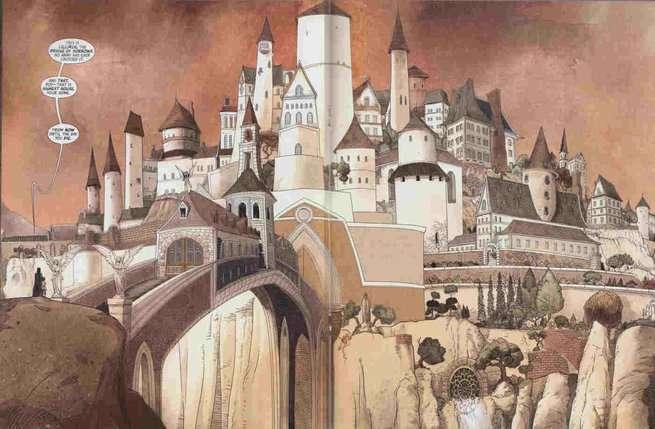 The Highest House - Castle Art