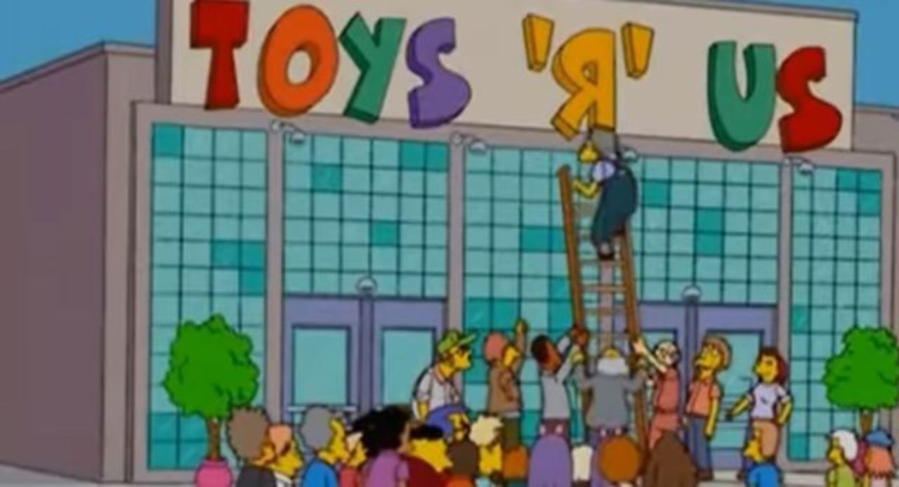 Did The Simpsons Predict Toys R Us Closing
