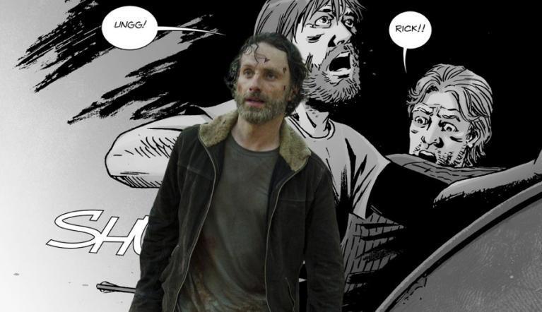 The Walking Dead 813 Rick arrow ComicBookcom
