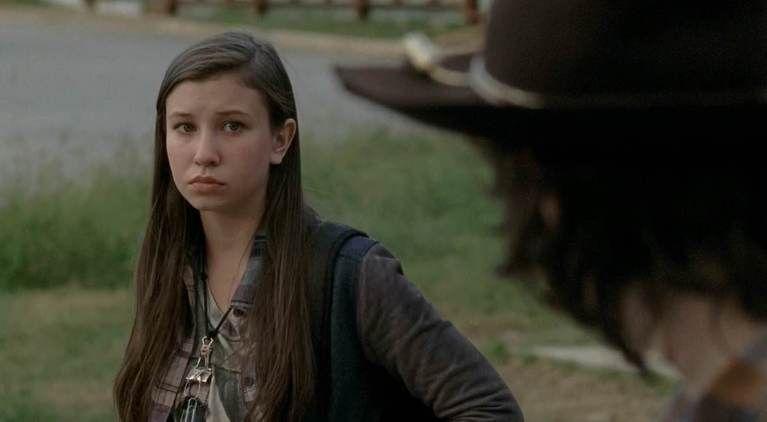 The Walking Dead Enid Carl