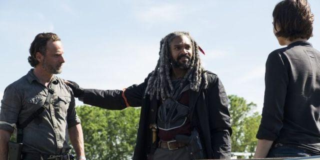 The Walking Dead Ezekiel Maggie