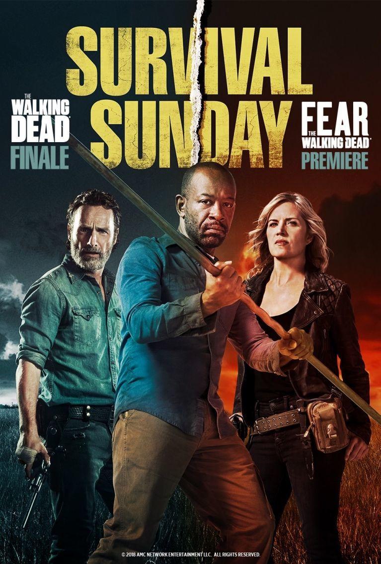 The Walking Dead Fear The Walking Dead Survival Sunday poster