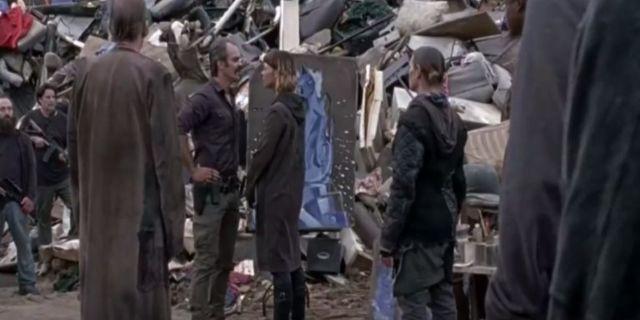The Walking Dead helipad