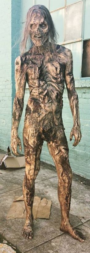 The Walking Dead naked walker