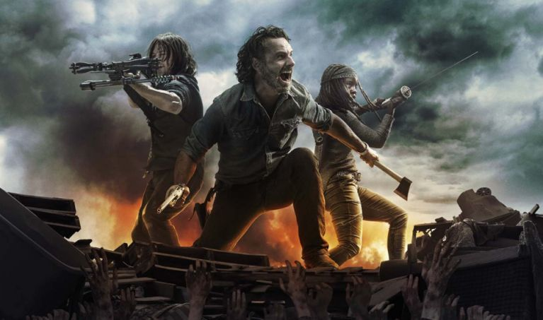 The Walking Dead season 8 textless